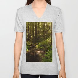 Photos California USA Creek Nature forest Trees brook Creeks Stream Streams Forests Unisex V-Neck