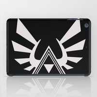 triforce iPad Cases featuring triforce by Black