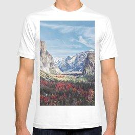 Tunnel View Yosemite Valley T-shirt