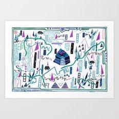Gauntlet(s), I Art Print