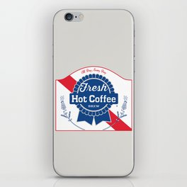 Blue Ribbon Roast iPhone Skin