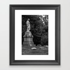 Motherly Framed Art Print