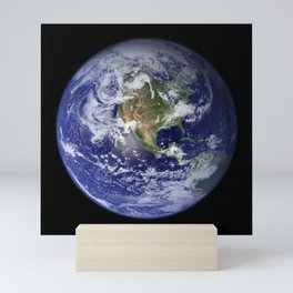 Earth in Miniature Mini Art Print