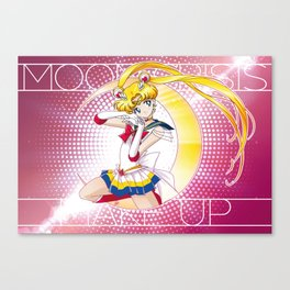 Sailor Moon Super S - Moon Crisis Make Up! Canvas Print