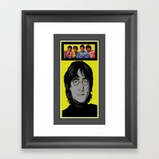 sgt.pepperandlennon Framed Art Print