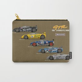 The McLaren 5 - 1995 Le Mans Winner + 4 Finishers Carry-All Pouch