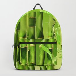 Bamboo Graphic Design Backpack