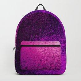 Vivid Hot Pink Spray Paint Art Backpack
