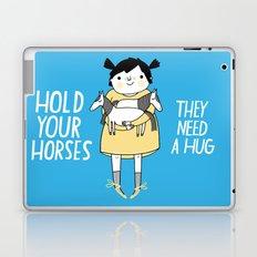 Hold Your Horses Laptop & iPad Skin