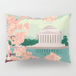 Spring in Washington DC Pillow Sham