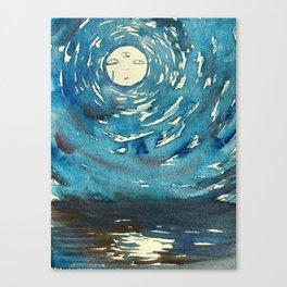 Psychic Moon Canvas Print
