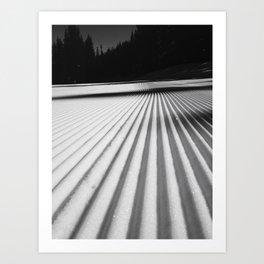 Corduroy Snow Art Print