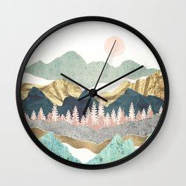 Summer Vista Wall Clock