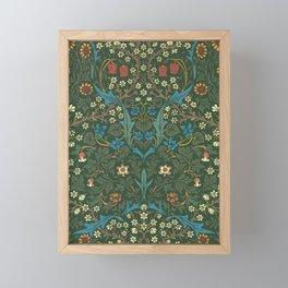 """William Morris """"Blackthorn"""" 1. Framed Mini Art Print"""