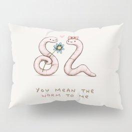Worm Love Pillow Sham