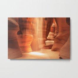 Inner Glow - Antelope Canyon Metal Print