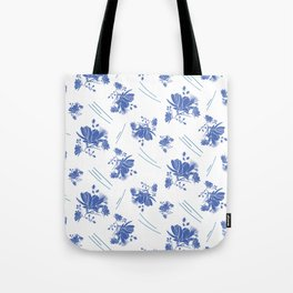 Cosmos on a Windy Day Tote Bag
