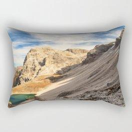 Autumn trekking in the alpine Pusteria valley Rectangular Pillow