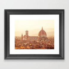 Florence Cathedral Framed Art Print
