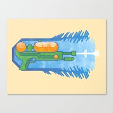 Supersoaker Canvas Print
