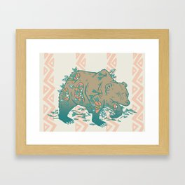Cough It Out Framed Art Print