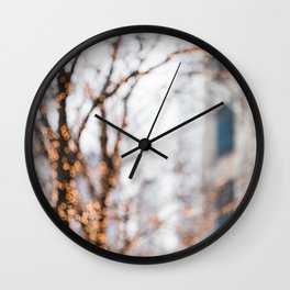 City Lights Wall Clock