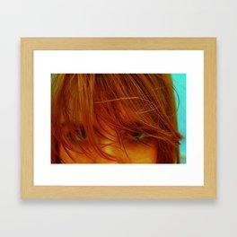 Leave It Framed Art Print