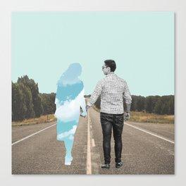 Imaginary Love Canvas Print