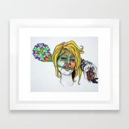 Mind of Artist Framed Art Print