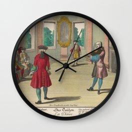Engelbrecht Martin Das TanzenAdditional La danse Wall Clock