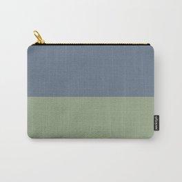 Payne's Grey/Asparagus Carry-All Pouch