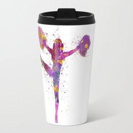 young woman cheerleader 04 Travel Mug