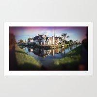 The Canals Pt.2  Art Print