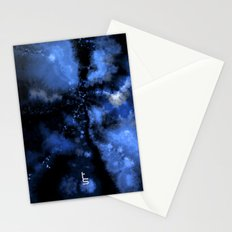 Dark Blue Vortex II Stationery Cards