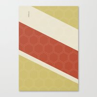 Geo Block No. 2 Canvas Print