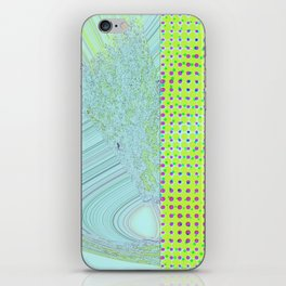DIS-TORT iPhone Skin