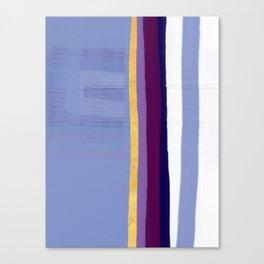 Violet purple Canvas Print