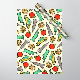 New York, New York Pattern Wrapping Paper
