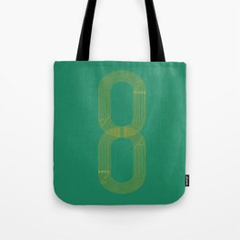 Eight track - runners never quit Tote Bag
