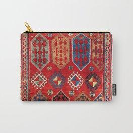 Borjalou Kazak Southwest Caucasus Antique Rug Print Carry-All Pouch