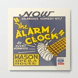 Vintage poster - The Alarm Clock Metal Print