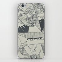 naked iPhone & iPod Skins featuring Naked by Annemiek Boonstra