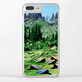 sacred hill Clear iPhone Case