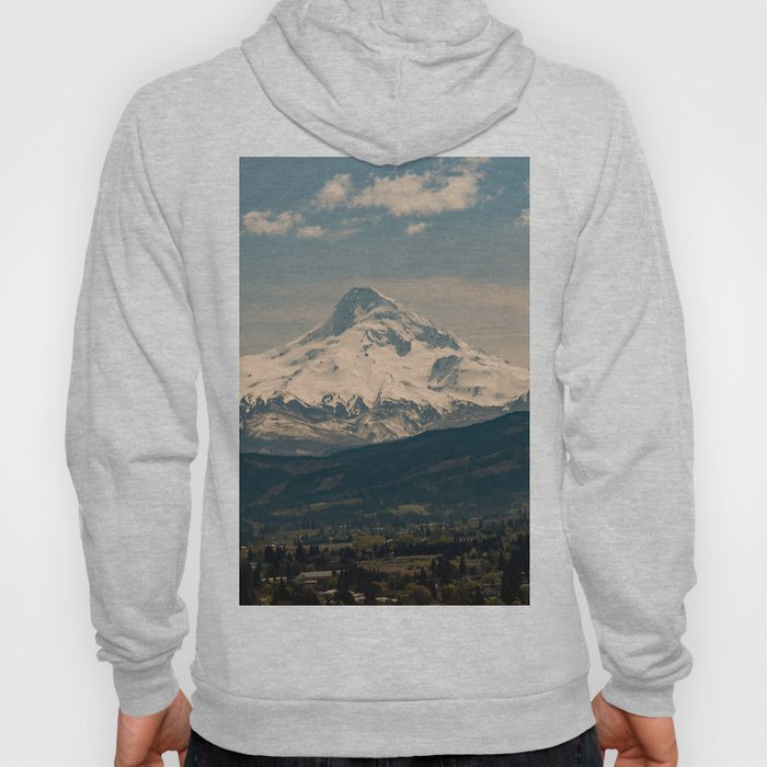 Mountain Valley Pacific Northwest - Nature Photography Hoody