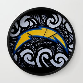POLY SanDiego CHARGERS Wall Clock