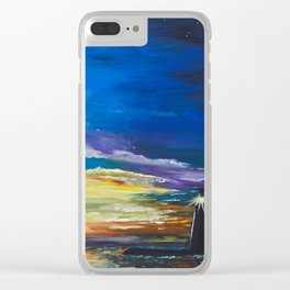 Lighthouse Strong Clear iPhone Case