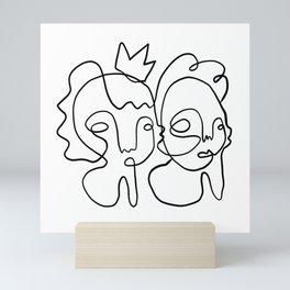 Kings Mini Art Print