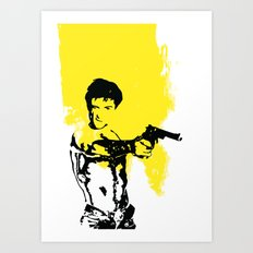 You Talkin' To Me??? Art Print