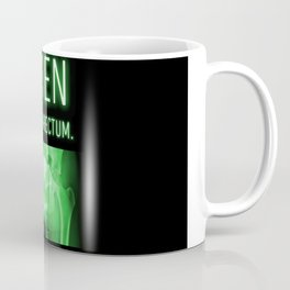 ALIEN INS-UR-RECTUM. Movie Poster. Coffee Mug