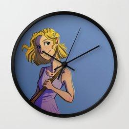 Cress in a Dress Wall Clock